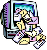 The Sun is Shining but the E-mails Need Mailing!
